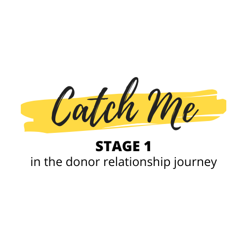 Donor Relationship Stage 1: Catch Me – ft. Joanne Rogers from The Shepherd Centre