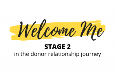 Donor Relationship Stage 2: Welcome Me – ft. Lauren McDermott