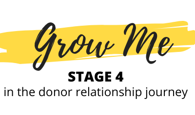 Donor Relationship Stage 4: Grow Me – ft. Mahza Ahadiwand
