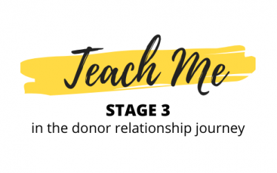 Donor Relationship Stage 3: Teach Me – ft. Jody Crooks